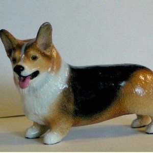 Ron Hevener Collectible Pembroke Welsh Corgi Figurine