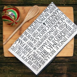 Christmas Tea Towel, Flour Sacks, Tea Towels, Hostess Gift, Tea Towel Linen, Flour Sack Towel, Dish Towels, Gifts for mom, Gifts under 20