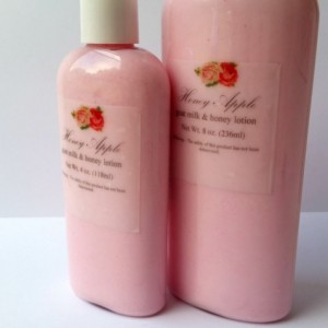 Goat Milk and Honey Lotion - Honey Apple Scented