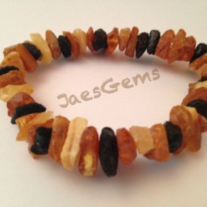 Baltic Amber raw unpolished healing bracelet