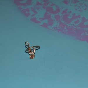 Treble Clef Ring, Music Note Ring