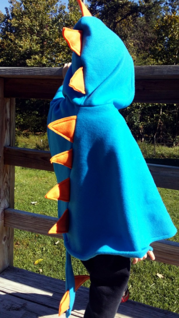 Dinosaur Capes Customizable Kids Play Dress Up Costume