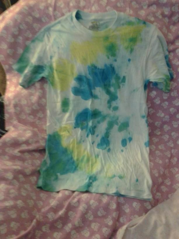 Small Tie Dye T Shirt