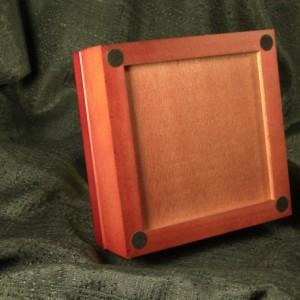 Mexican Sunflower Rosewood & Tile Jewelry Box