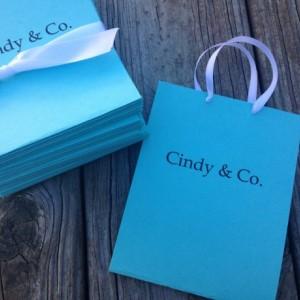 Little Tiffany Blue Bag Invite - Bridal / Shower / Birthday/ Party Invite