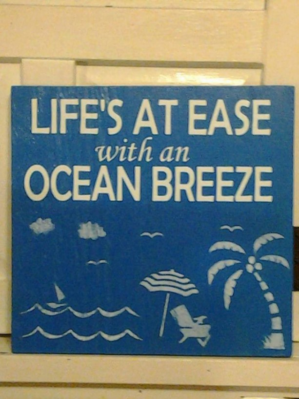 Beach signs - Beach House - Beach Sign - Ocean Breeze - Wood Sign - Signs - Wooden signs - Sign - Pool House Signs - outdoor sign