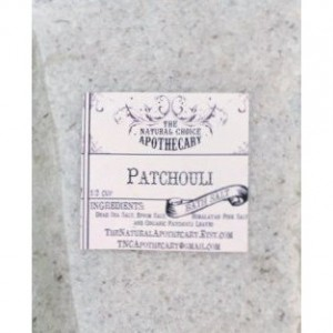 2 pouches Patchouli Bath Soak pouch - Handmade by The Natural Choice Apothecary - Vegan, Organic, Cruelty Free