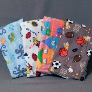 Baby Boy Burp Cloth Gift Set