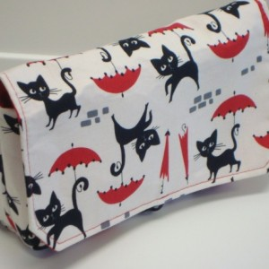 Coupon Organizer Cash Budget Organizer Holder- Attaches to your Shopping Cart - Le Chat Cat