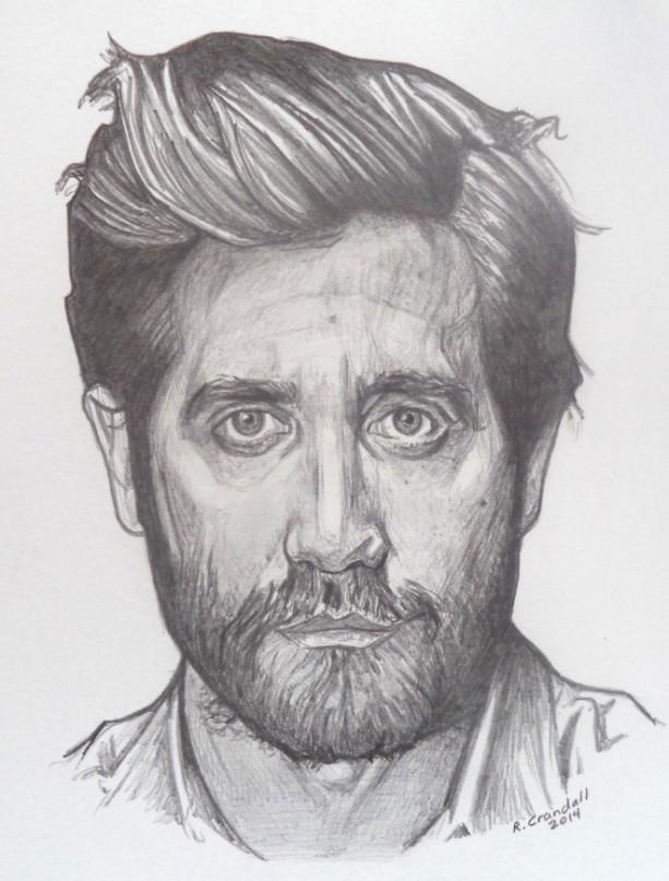Jake Gyllenhaal original drawing