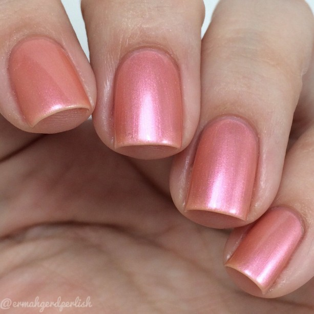 Raindrops on Roses Nail Lacquer - 3 free; naturally colored nail lacquer - Artisan Nail Polish