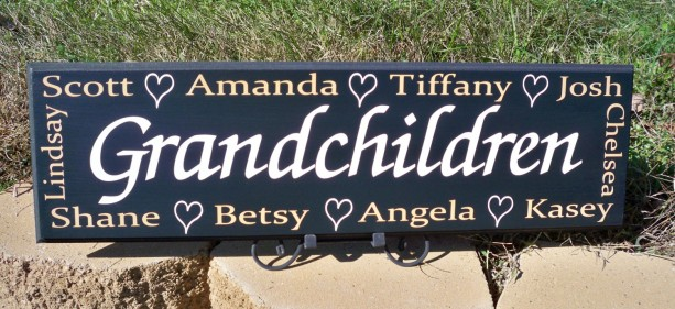 Personalized Grandmother Gift Personalized Name Sign Grandma Si