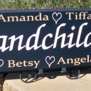 Personalized Grandmother Gift, Personalized Name Sign, Grandma Sign, Personalized Family Sign, Nonna, Nana Sign, Grandmother, Grandpa, Pop