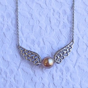 Golden Snitch Necklace - Harry Potter, Quidditch, magic, game, magical, enchanted