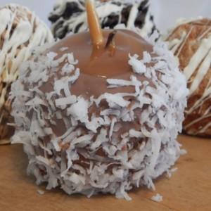 Gourmet Caramel Chocolate Covered Apple / chocolate / unique / gluten free / fun / different /  gift / present / favor / milk / dark /white