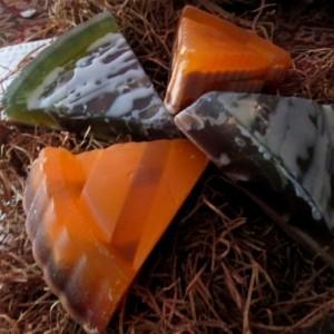 On Sale Pumpkin Pie Novelty Soap~Blackberry Vanilla Novelty Soap~ Pie Soap~Thanksgiving Soap~Christmas Soap~
