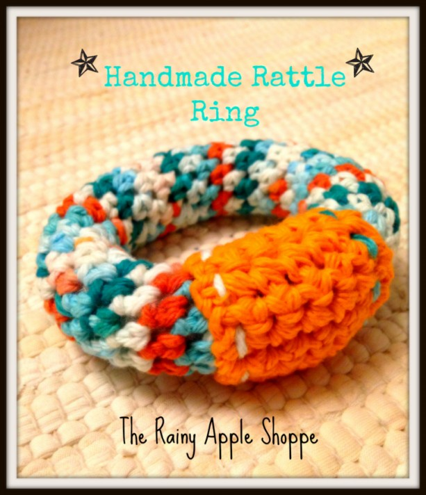 Baby rattle, soft baby rattle, baby ring,baby shower, crochet rattle, custom made rattle, baby toys, rattle in handmade, toys in handmade