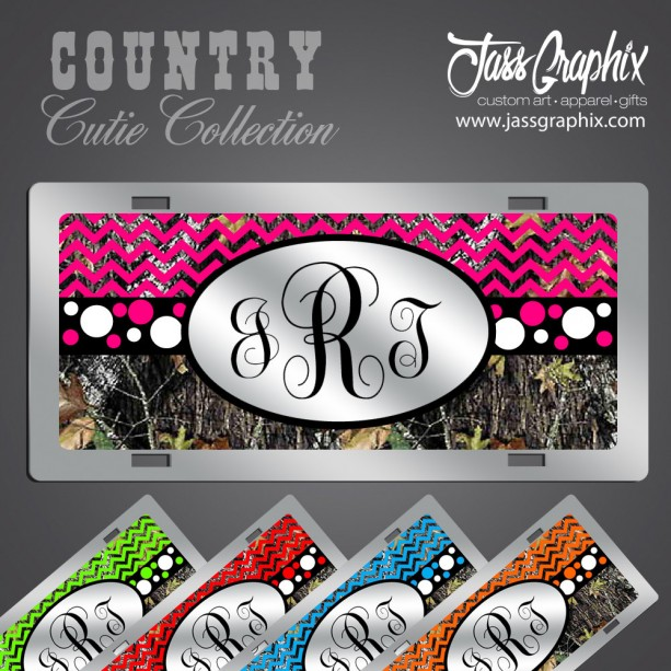 Camo Car Tags & Camouflage license plates. Personalized Camouflage Tags. These custom camo car tags are personalized with name or initials