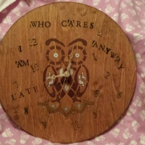 Who Cares Owl Wall Clock