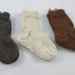 Alpaca Toddler & Baby Socks