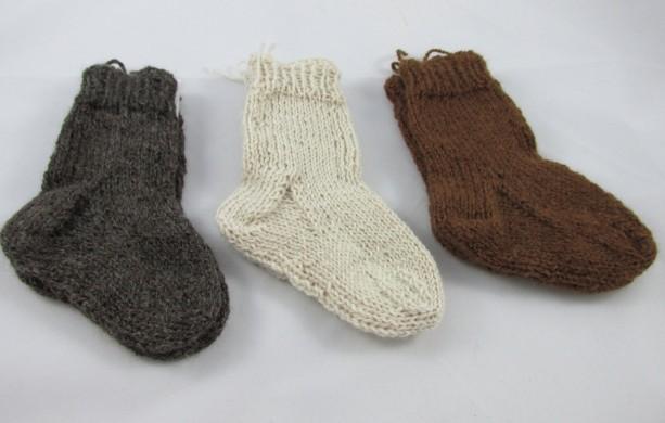 Alpaca Toddler & Baby Socks
