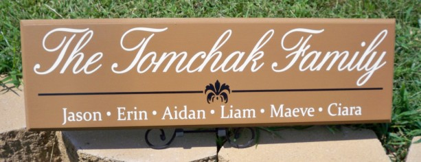 Personalized Family Name Sign, Last Name Sign, First Name Sign, Custom Family Name Sign, Name Sign, Children Sign, Custom Sign, Family Sign