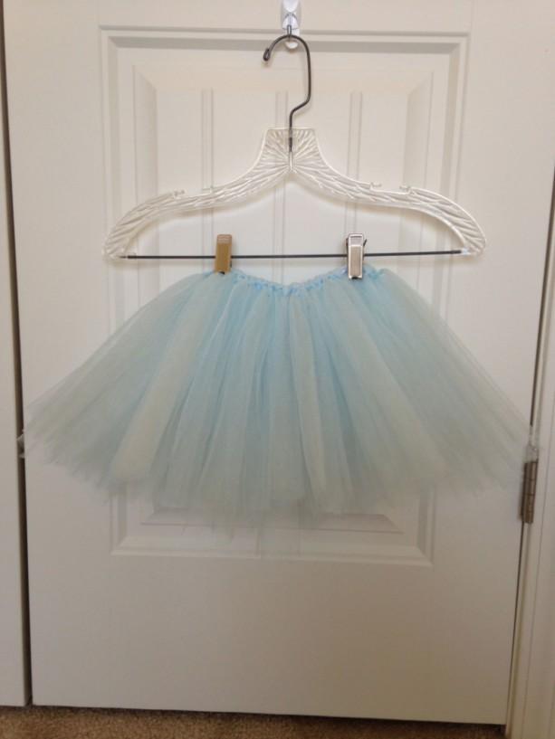 Girls Baby Light Blue Tutu-Christmas, Dress up, photos