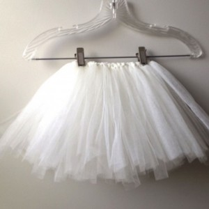 Ivory/White Girls Tutu-  Dress up, Photo