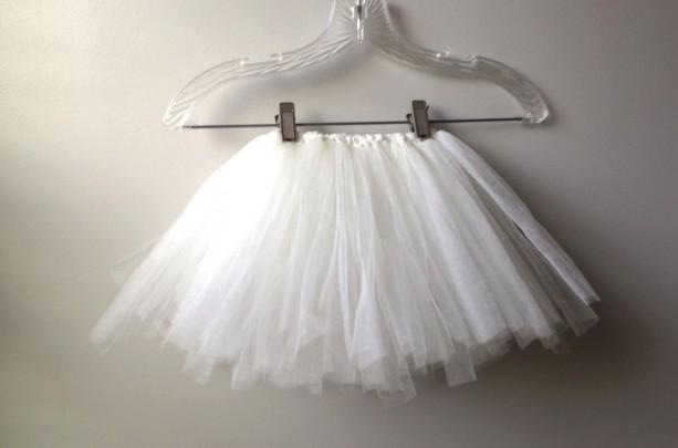 Ivory/White Girls Tutu-  Dress up, Photo