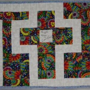 The Cross in the Labyrinth Quilted Prayer Shawl | aftcra : quilted prayer shawls - Adamdwight.com