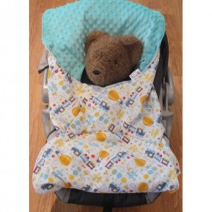 Car Seat Blanket; Blanket for Rear Facing Car Seats; Stroller Blanket
