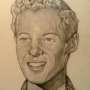 Eddie Haskell, Ken Osmond drawing