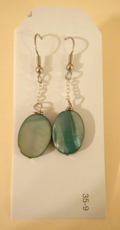 Teal Stone Earrings