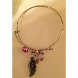Angel Wing Bangle Bracelet