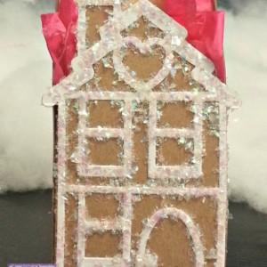 Christmas favor box - Gingerbread house favor box - Holiday favor box - Christmas gift box - Holiday gift box - Daycare boxes  - house favor