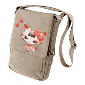Kimono Fox Military Style Ipad Bag