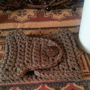 Toasty Brown Travel Cup Cozy