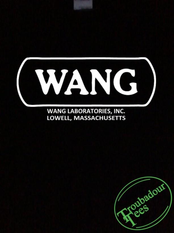 Wang T-Shirt Retro Computer History