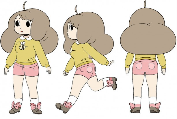 Bees Sweater Bee And Puppycat Cartoon Hangover Cosplay Aftcra