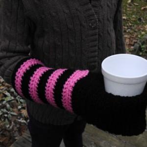 Crochet Coozie Mitten