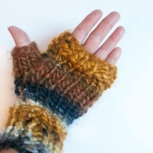 Blue Jean Baby Fingerless Texting Mitts