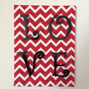 Love Sign - Love Wall Hanging - Valentine's Day Decor - Home Decor - Dorm Room Decor