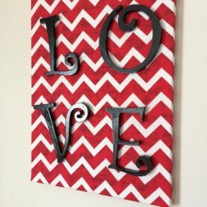 Love Sign - Love Wall Hanging - Valentine's Day Decor - Home Decor - Dorm Room Decor