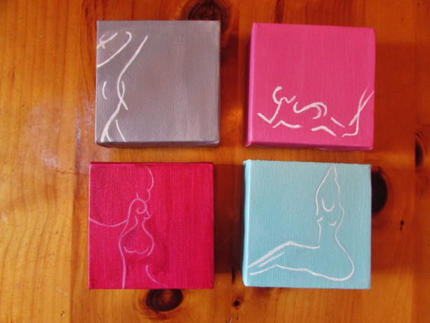 Custom Body Love Mini Acrylic Art Set