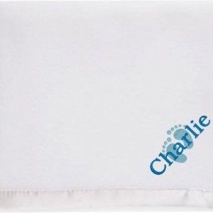 Keepsake Personalized Baby Blanket, Christening Gift