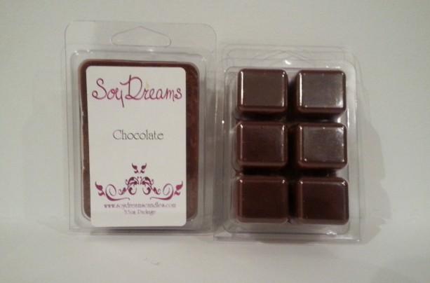 Chocolate - Soy Tart Melts - Set of 3