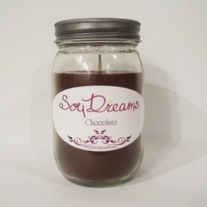 Chocolate - Soy Candle Jar