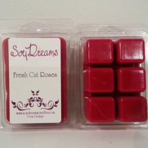 Fresh Cut Roses - Soy Tart Melts - Set of 3