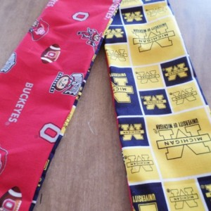 Door Draft Stopper Door Draft Blocker Door Snake OHIO STATE BUCKEYE University of Michigan A House Divided Reversible