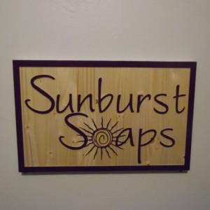 Custom Hand Made Business Sign